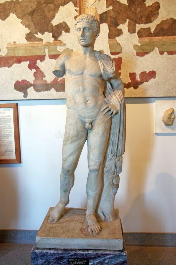 Estatua de Hermes foto de archivo libre de regalías
