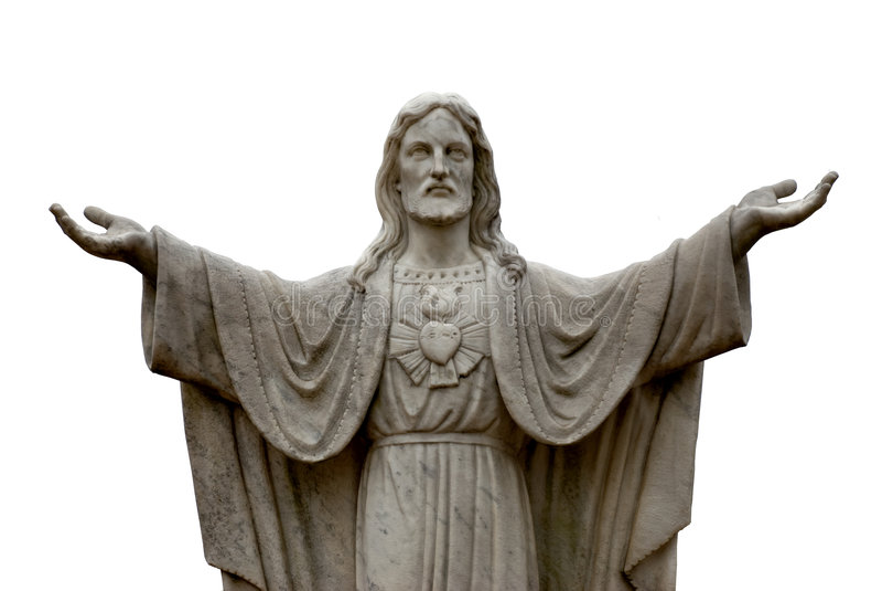 Estatua de Jesús imagenes de archivo