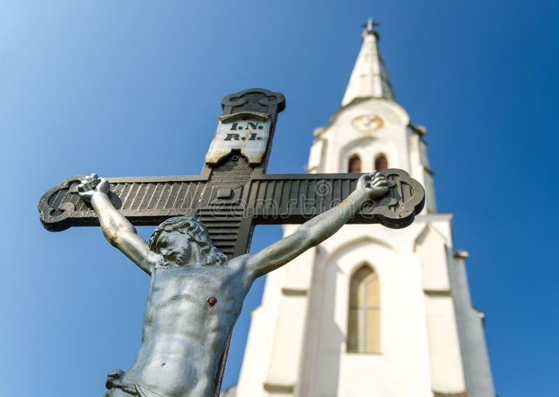 Estatua de Jesus Christ imagen de archivo