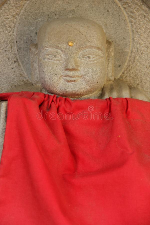 Estatua de Jizo fotos de archivo