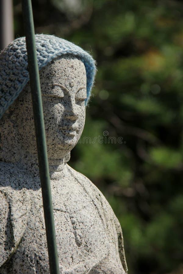 Estatua de Jizo imagen de archivo libre de regalías