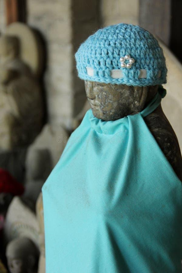 Estatua de Jizo imagen de archivo