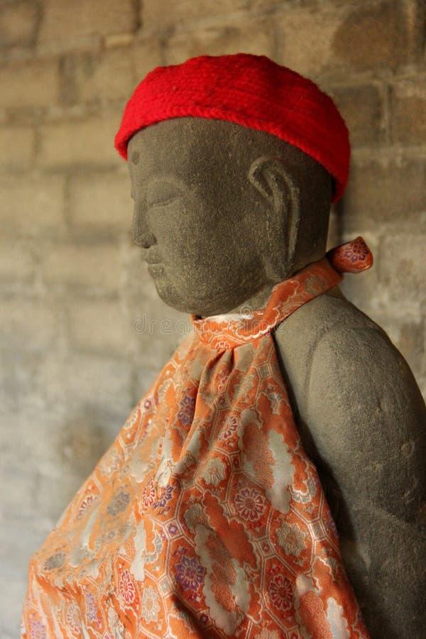 Estatua de Jizo foto de archivo