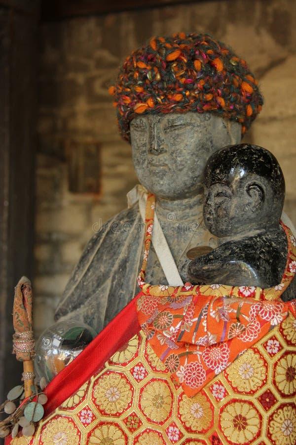 Estatua de Jizo foto de archivo libre de regalías