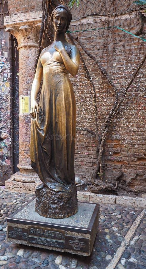 Estatua de Juliet en Verona fotografía de archivo libre de regalías