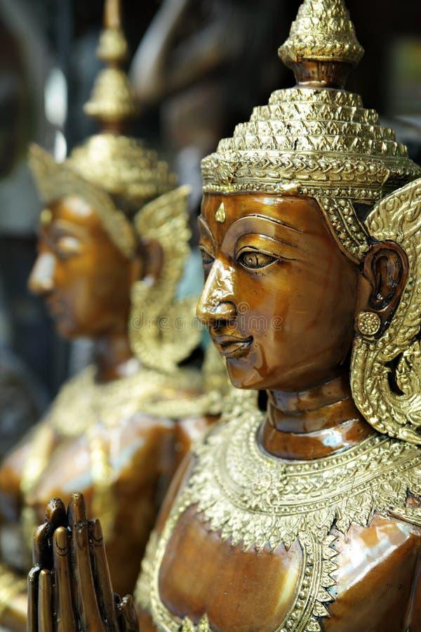 Estatua de Kinnara fotos de archivo