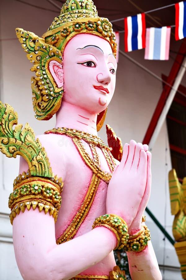 Estatua de Kinnara imagen de archivo