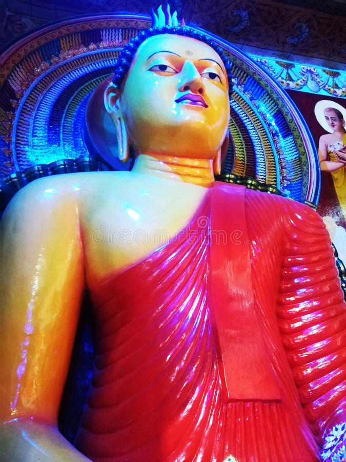 Estatua de la adoración fotos de archivo