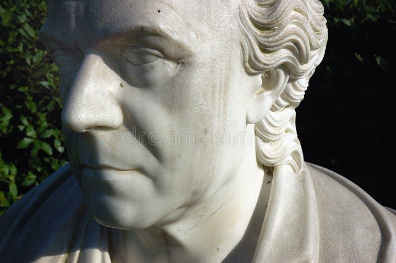 estatua de la cara fotografía de archivo libre de regalías
