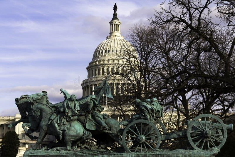 Estatua de la guerra civil fotos de archivo libres de regalías