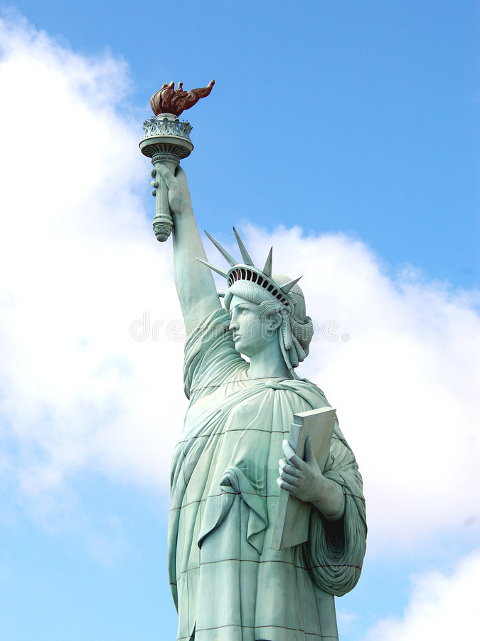 Estatua De La Libertad 2 Fotografía de archivo libre de regalías