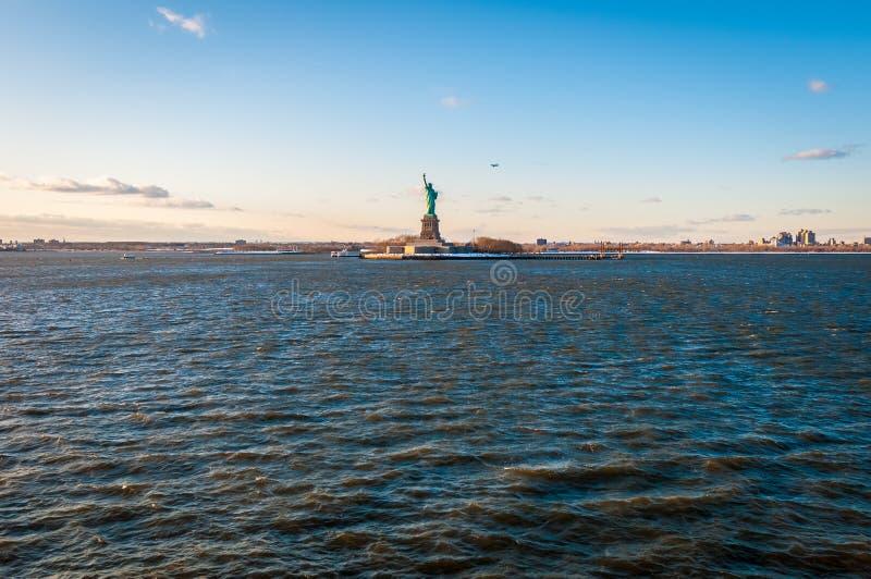 Estatua de la libertad en Nueva York, Estados Unidos imagen de archivo libre de regalías
