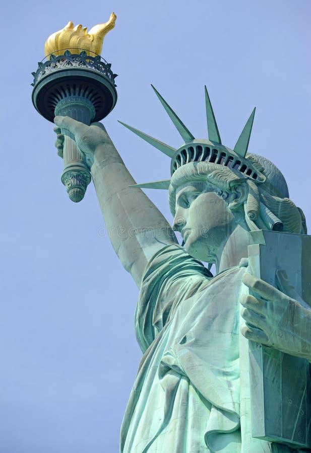 Estatua de la libertad, Liberty Island, New York City fotografía de archivo libre de regalías