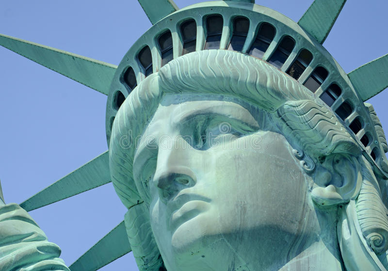 Estatua de la libertad, Liberty Island, New York City foto de archivo