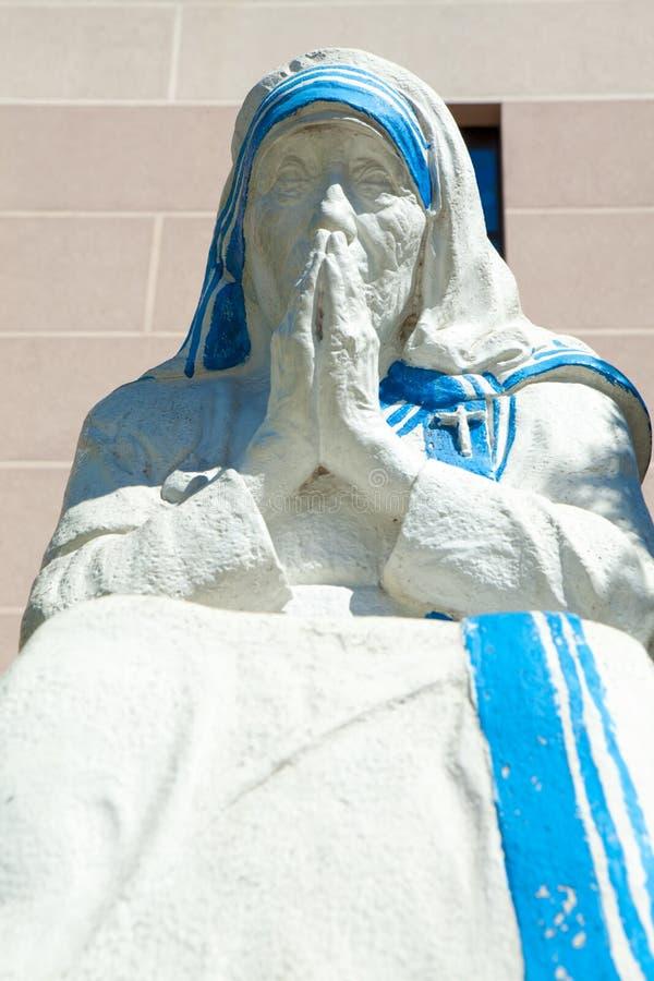 Estatua de la madre Teresa foto de archivo libre de regalías