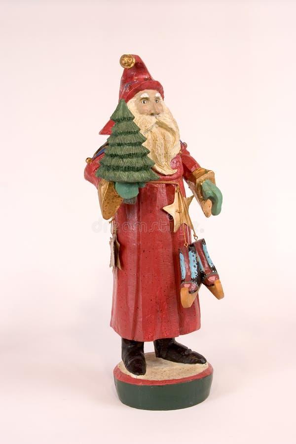 Estatua de la Navidad de San Nicolás imagenes de archivo