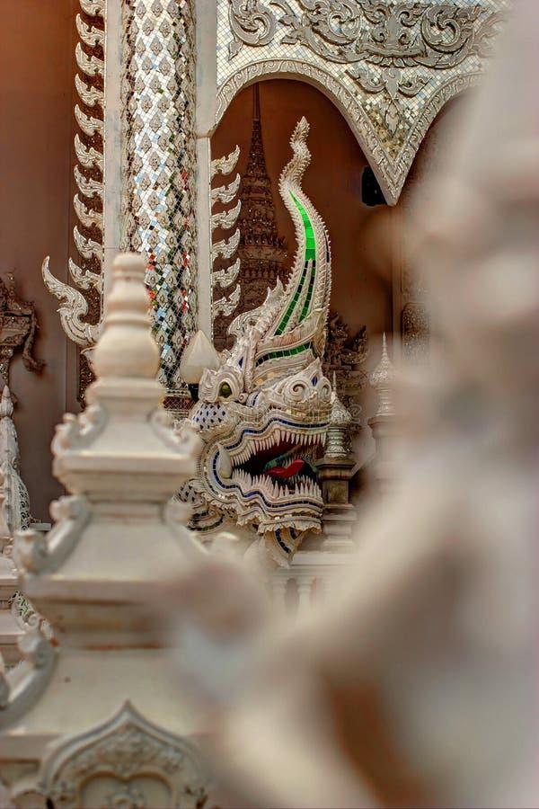 Estatua de la serpiente o del Naga foto de archivo libre de regalías