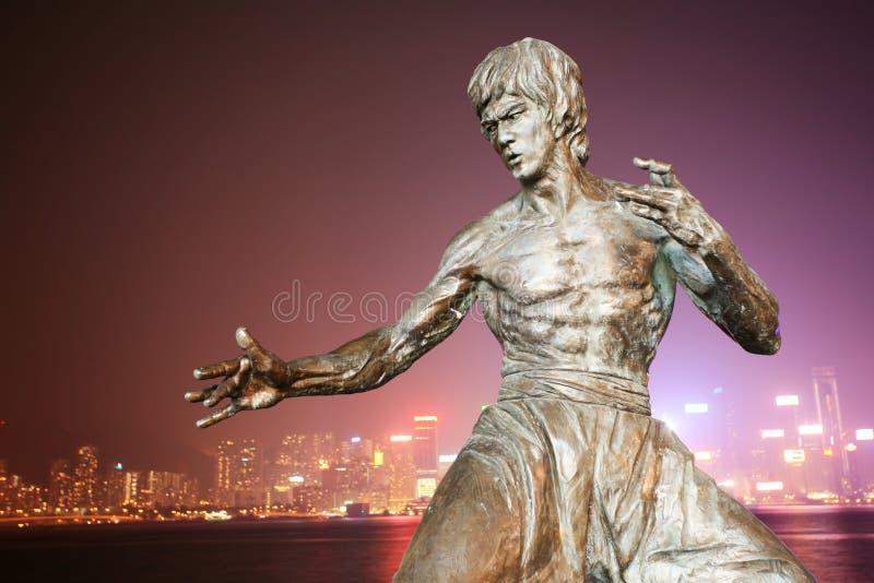 Estatua de las heces de Bruce imagenes de archivo