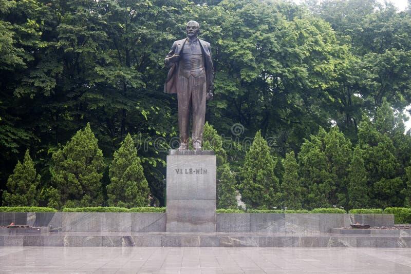Estatua de Lenin imagen de archivo libre de regalías
