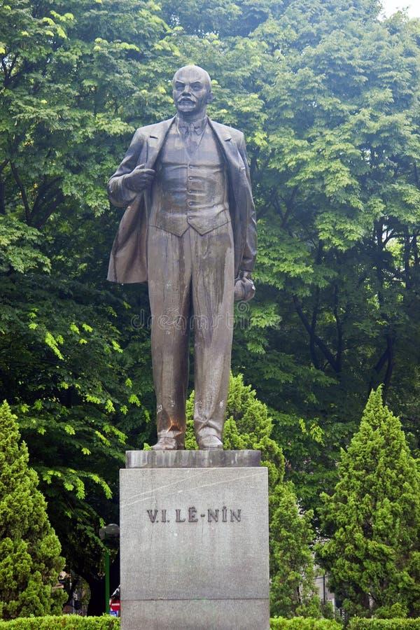 Estatua de Lenin en Hanoi fotos de archivo libres de regalías
