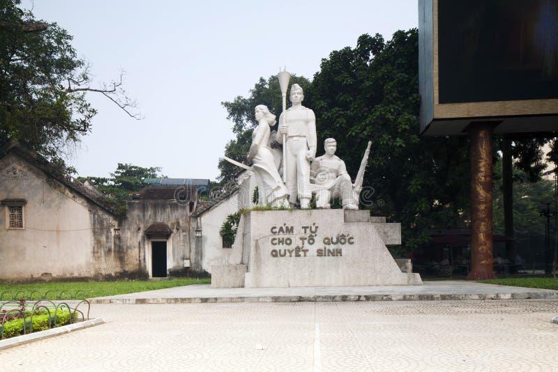 Estatua de los guerreros de Viet Cong fotos de archivo libres de regalías