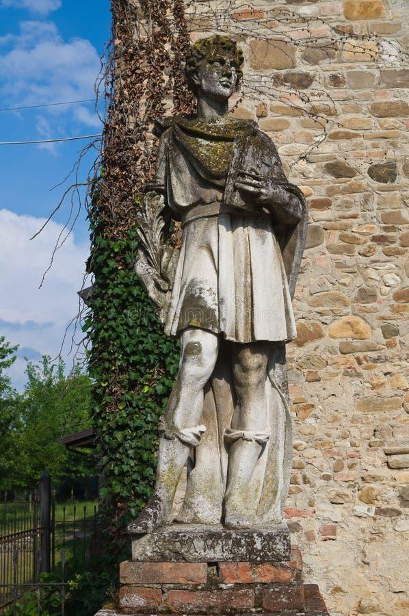 Estatua de mármol. foto de archivo libre de regalías