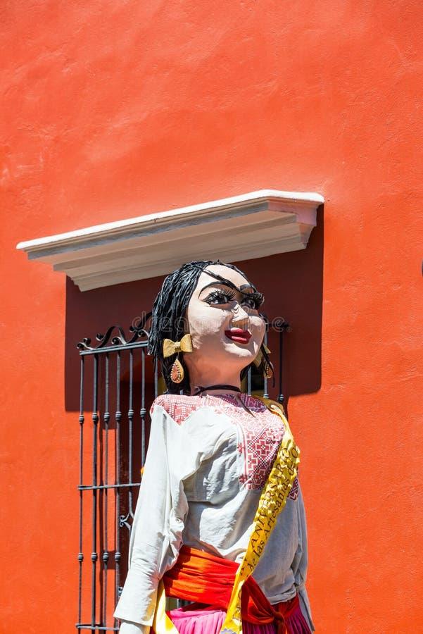Estatua de Mache del papel foto de archivo libre de regalías