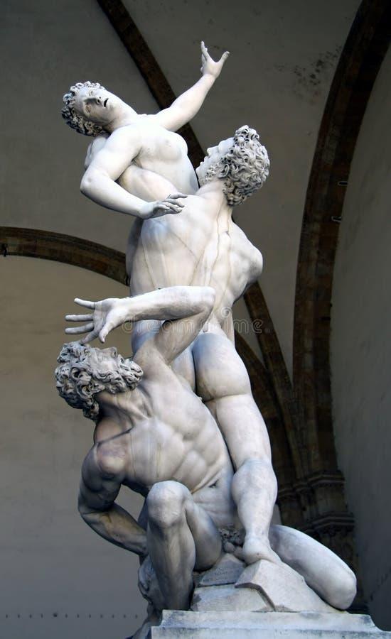 Estatua de Michelangelo imagenes de archivo