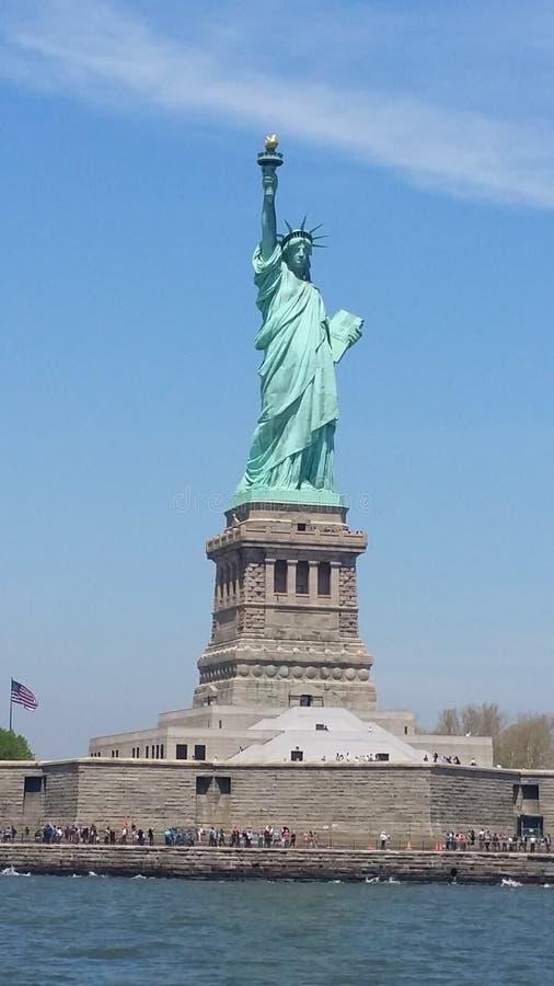 Estatua de NYC de la libertad imagenes de archivo
