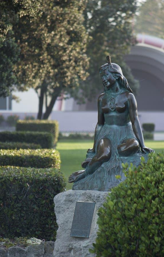 Estatua de Pania imágenes de archivo libres de regalías