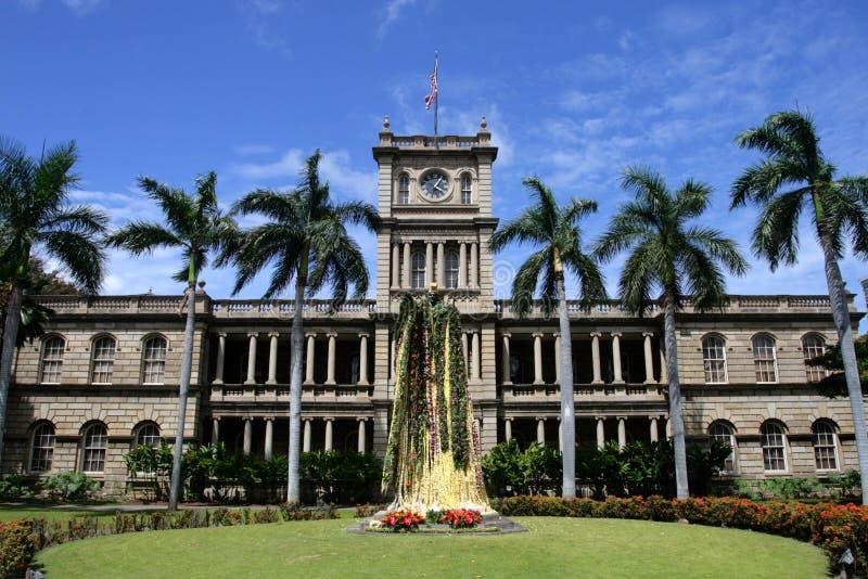 Estatua de rey Kamehameha, Honolulu, Hawaii fotografía de archivo