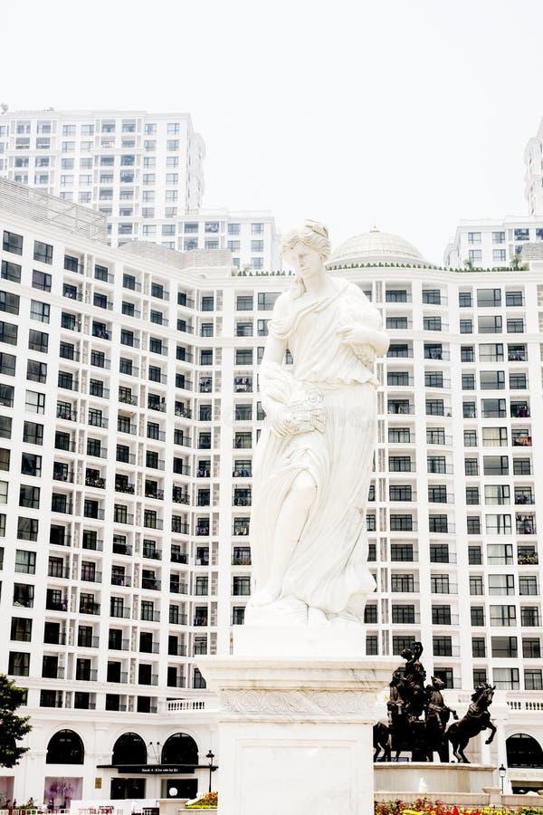 Estatua de romano foto de archivo
