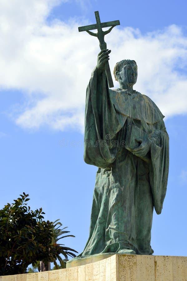Estatua de S Goncalo de Lagos imágenes de archivo libres de regalías