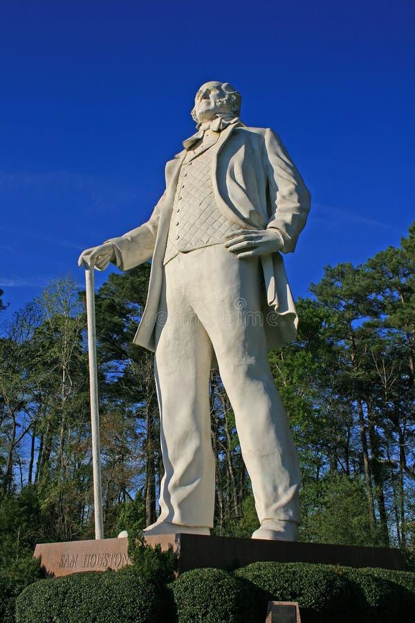 Estatua de Sam Houston fotos de archivo