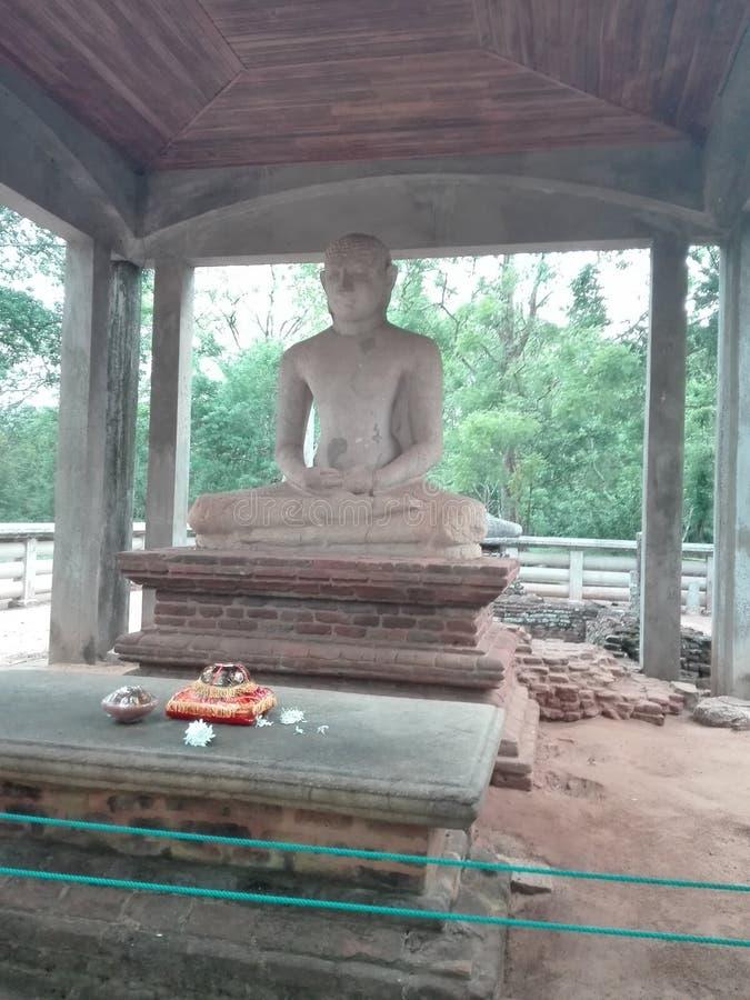 Estatua de Samadhi imagenes de archivo