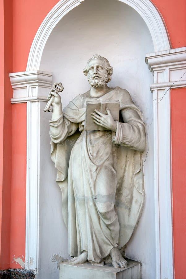 Estatua de San Pedro imagen de archivo
