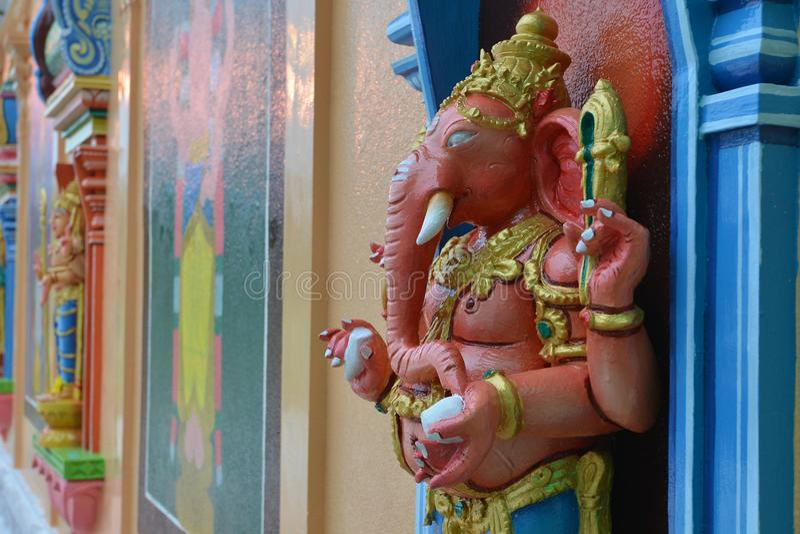 Estatua de señor Ganesha imagen de archivo