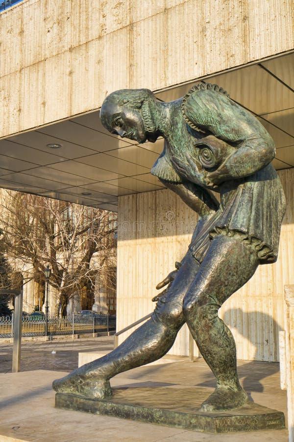 Estatua de Shakespeare foto de archivo libre de regalías