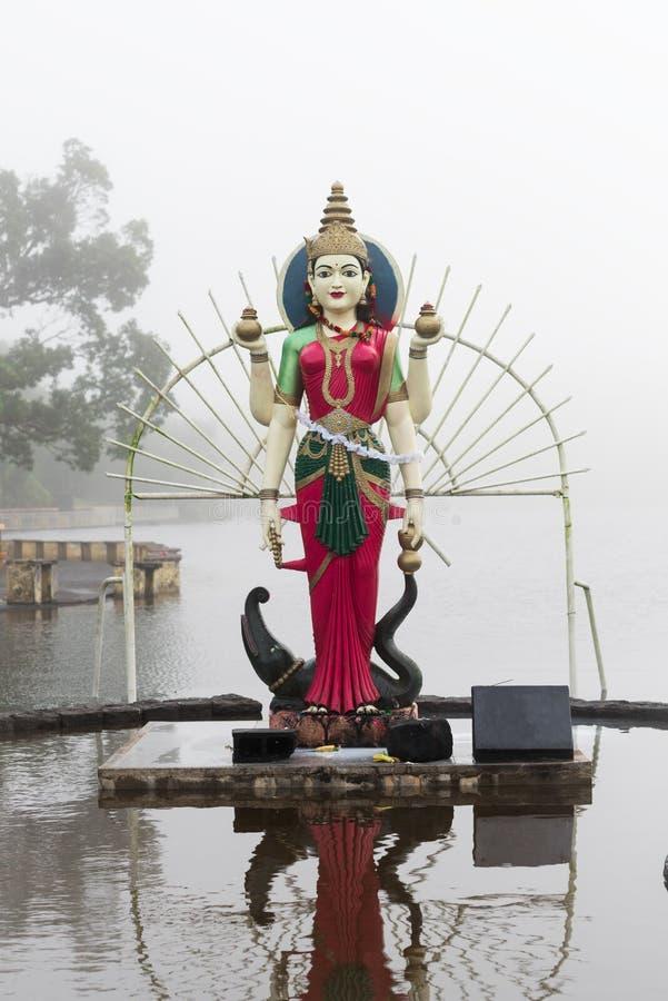 Estatua de Shakti en un templo hindú imagen de archivo libre de regalías