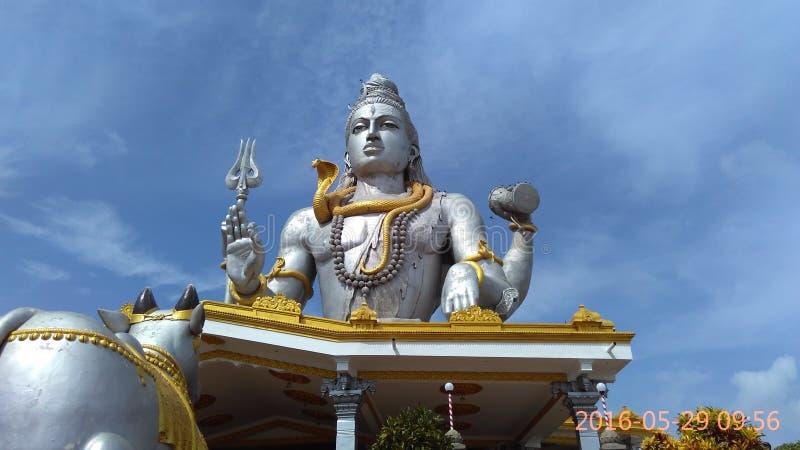 Estatua de Shiva fotos de archivo
