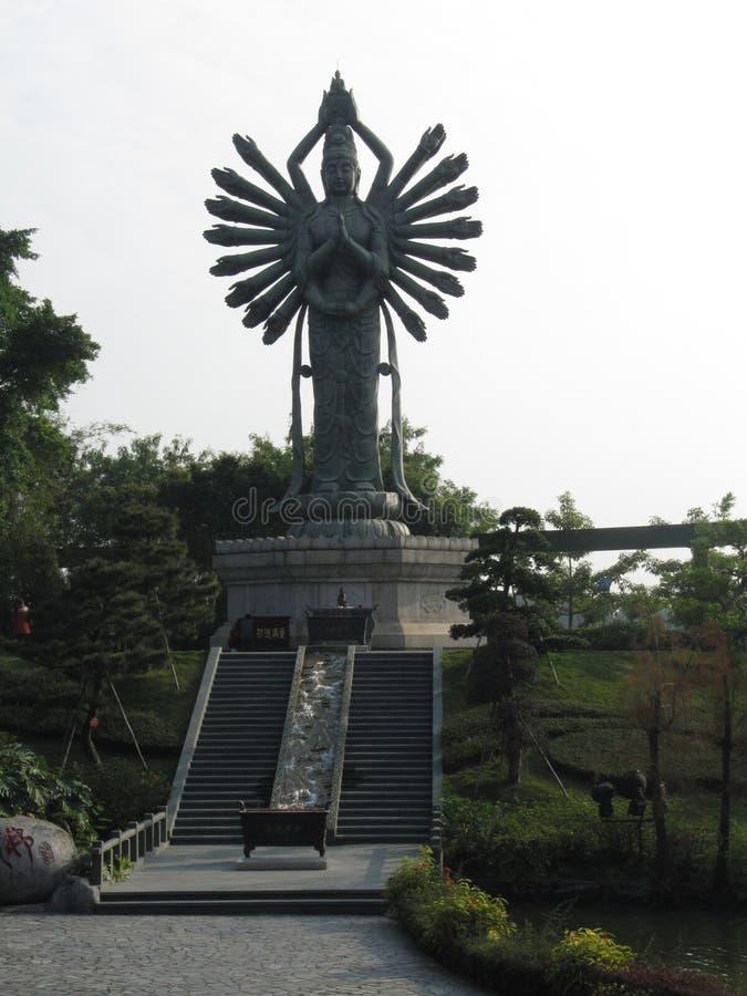 Estatua de Shiva en China imagen de archivo libre de regalías