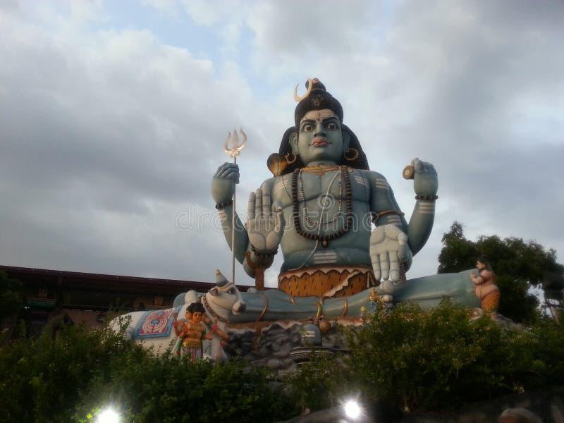 Estatua de Shiva en Sri Lanka imagen de archivo
