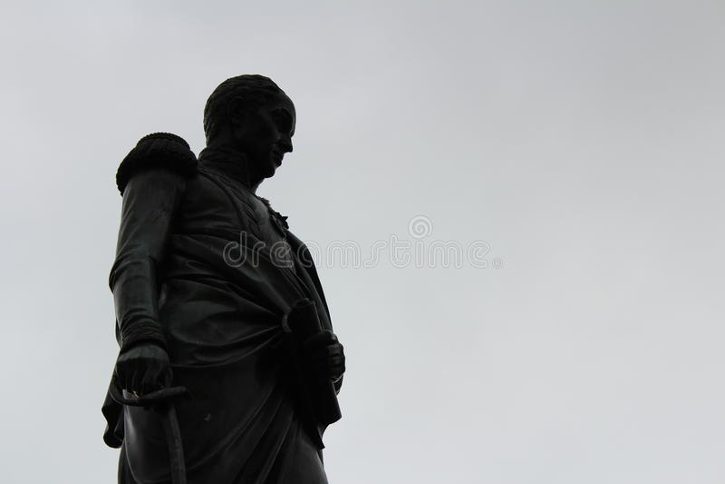 Estatua de Simon Bolivar foto de archivo