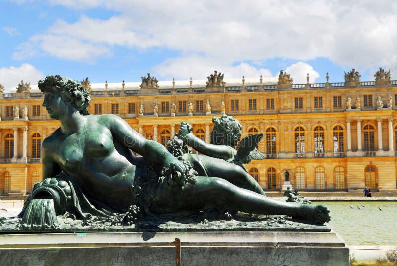 Estatua de Versalles fotografía de archivo libre de regalías
