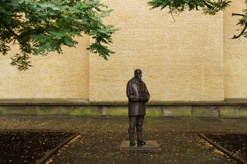 Estatua de Victor Hasselblad, Goteburgo Suecia fotografía de archivo