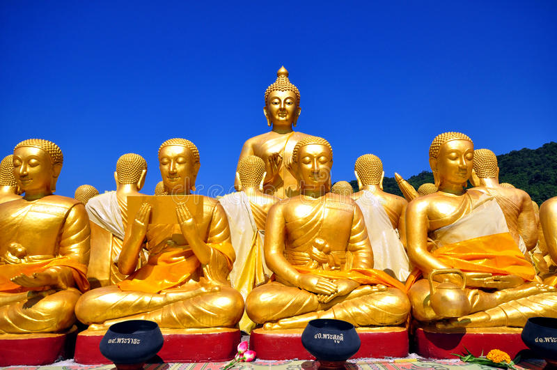 estatua del ฺBuddha imagenes de archivo