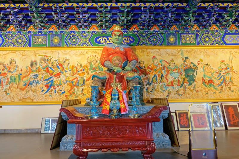 Estatua del ídolo chino foto de archivo