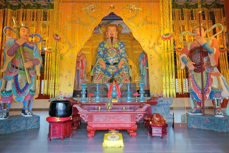 Estatua del ídolo chino fotos de archivo libres de regalías