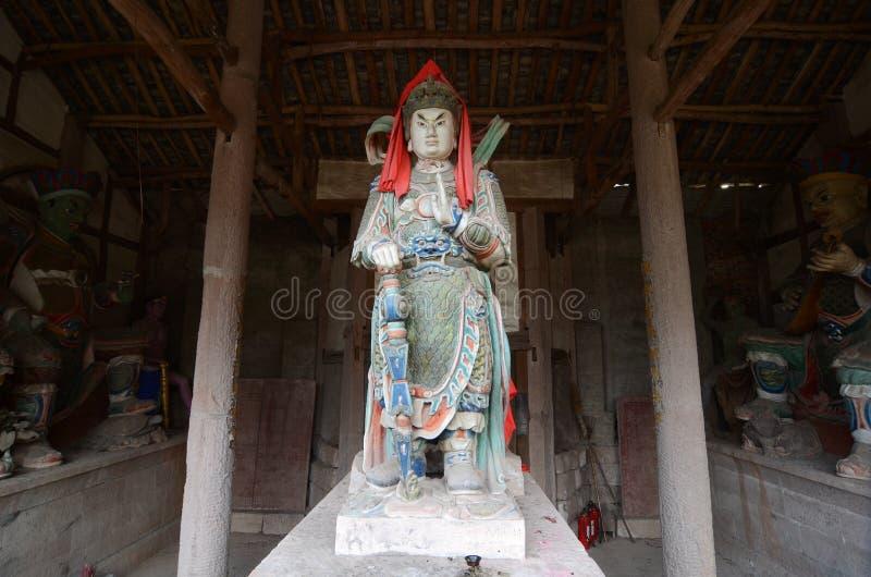 Estatua del bodhisattva de Skanda fotos de archivo libres de regalías