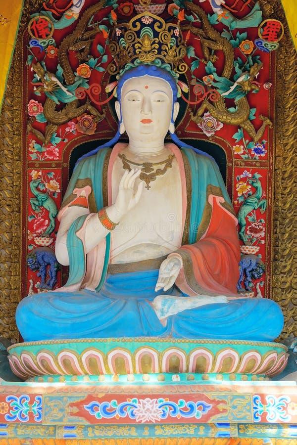Estatua del Bodhisattva imágenes de archivo libres de regalías